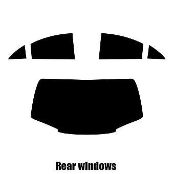 Pre corte tintado - Mercedes CLA Coupe - 2014 y nuevos - posterior ventanas