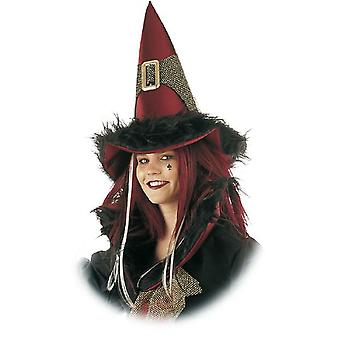 Perruque de sorcière sorcière Mesdames créatures mythiques Womens perruque