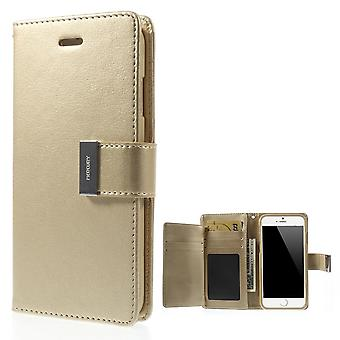 Mercury GOOSPERY Rich Diary for iPhone 6 PLUS Champagne