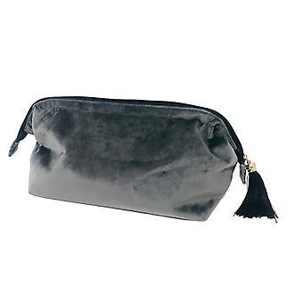 Victoria's Design Necessär sammet grå 28cm