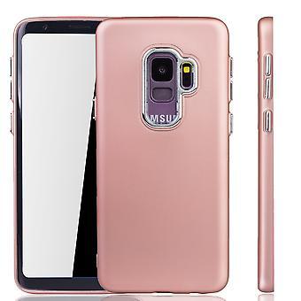Samsung Galaxy S9 - etui na telefon dla Samsung Galaxy S9 - mobilne przypadków w rose różowy