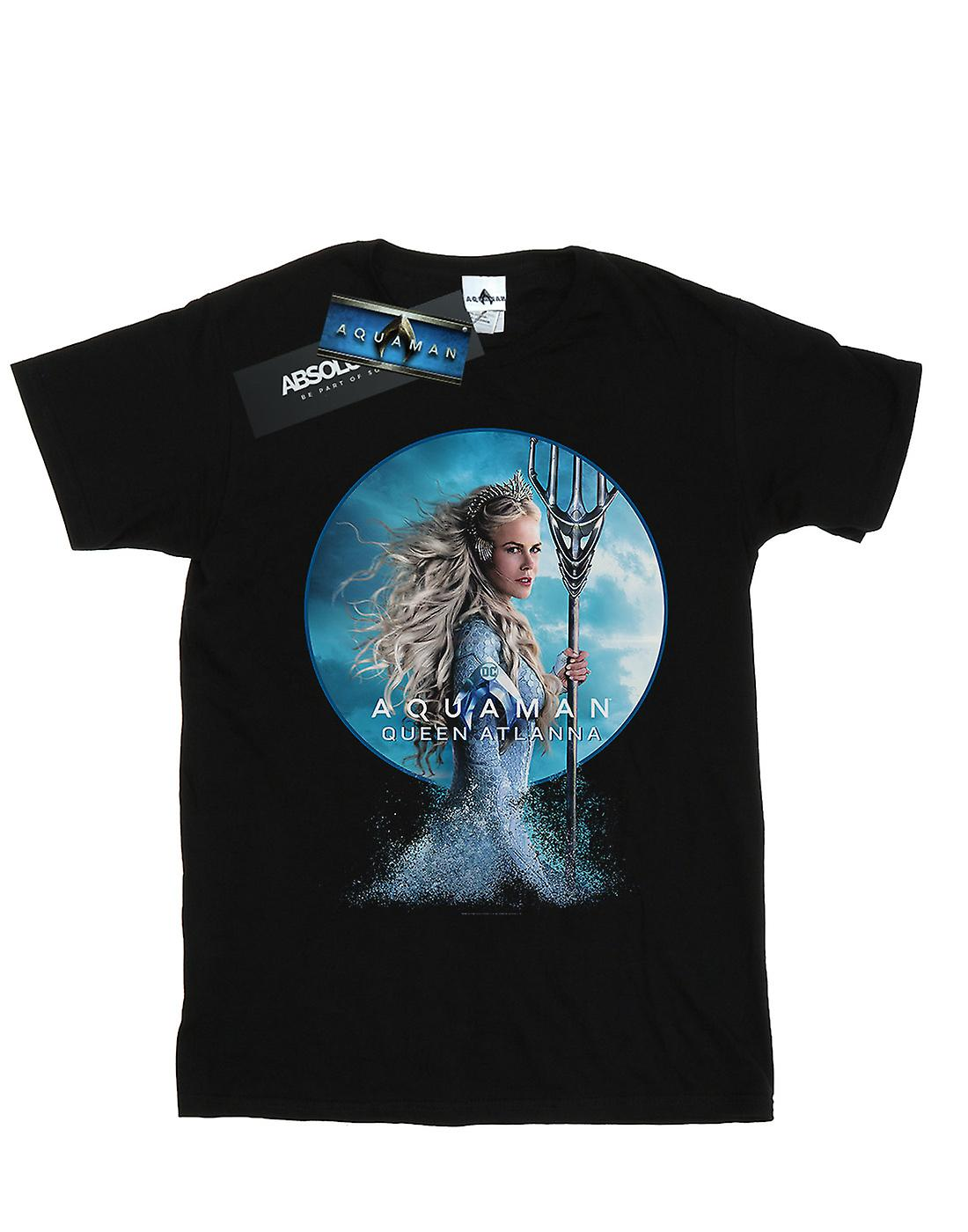 DC Comics Women's Aquaman Queen Atlanna Boyfriend Fit T-Shirt