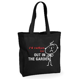 Mens אני ' די להיות בתוך שקית שחור גן כותנה שחורה