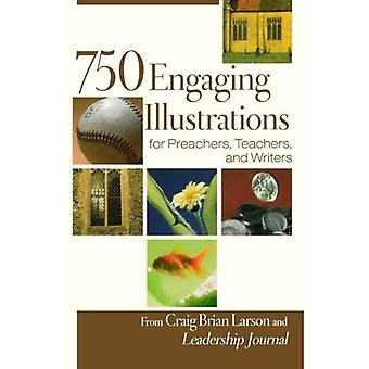 750 engagerande illustrationer för predikanter, lärare och författare, packa