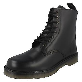 Mens Maverick Military Style Lace Up Boot 1900B