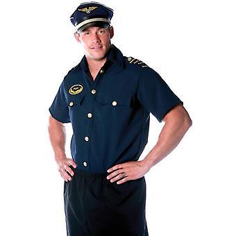 Piloten T-Shirt Erwachsene