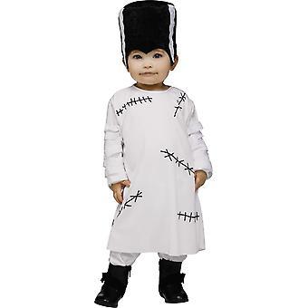 Costume pour bébé de mariée monstre