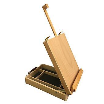 朗代尔木桌顶盒画架
