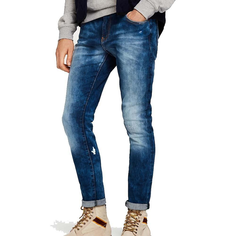 Scotch & Soda Skim Repair Skinny Fit Jeans