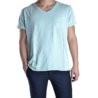 Tommy Hilfiger Ezbc075001 Men's Green Cotton T-shirt