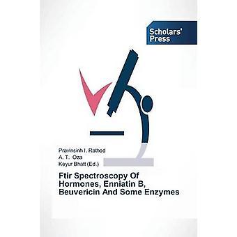 FTIR-Spektroskopie von Hormonen Enniatin B Beuvericin und einige Enzyme durch Rathod Pravinsinh ich.