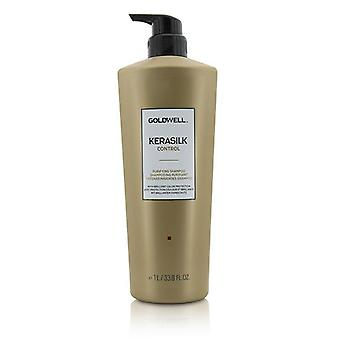 Goldwell Kerasilk Control Purifying Shampoo (for All Hair Types) - 1000ml/33.8oz