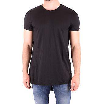 Tom Rebl Ezbc151002 Men's Black Cotton T-shirt