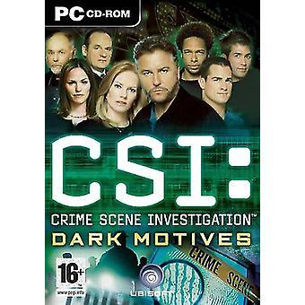 CSI Brottsplats utredning-Dark motiv-Factory förseglade