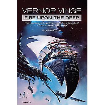 A Fire Upon the Deep by Vernor Vinge - 9780765329820 Book