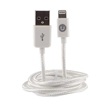 Urbanz Braided Cord Lightning Cable for iPhone & iPad - White (INC-LC1-WH)