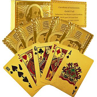 24-Carat Gold Foil Playing Cards