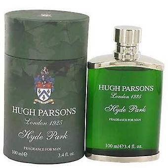 Hugh Parsons Hyde Park de către Hugh Parsons EAU de Parfum Spray 3,4 oz (bărbați) V728-517234