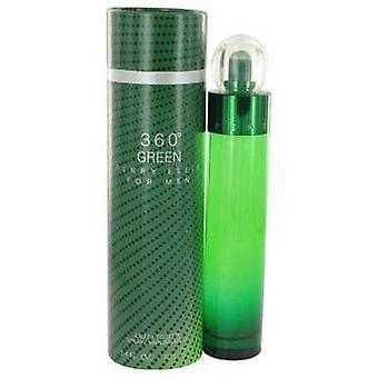 Perry Ellis 360 Green By Perry Ellis Eau De Toilette Spray 3.4 Oz (men) V728-515710
