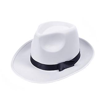 Bristol Novelty Unisex Adults Satin Finish Gangster Hat