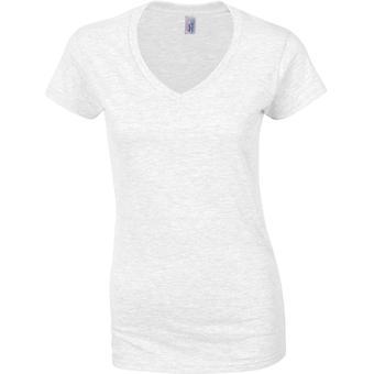 Gildan-Softstyle dame-T-shirt til kvinder med V-udskæring