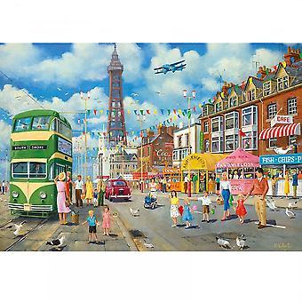 Gibsons Blackpool promenadzie 500 kawałek układanki