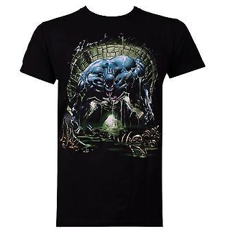 Venom Sewer musta miesten ' s T-paita