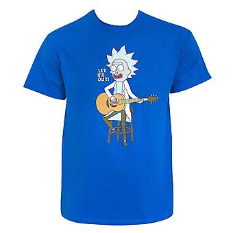Rick And Morty Let Me Out Tee Shirt