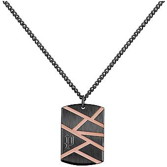 Police Men's Stainless Steel Pendant Necklace PJ.26485PSBR-01