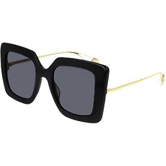 Gucci GG0435S Black/Golden Grey