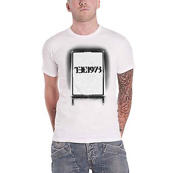 The 1975 T Shirt Black Tour Band Logo new Official Mens White
