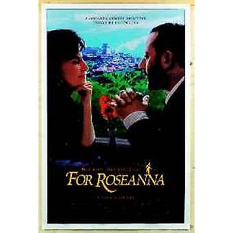 For Roseanna (Double Sided) Original Cinema Poster