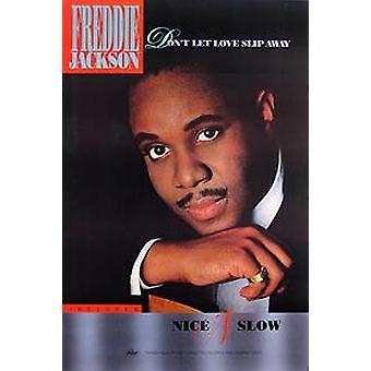 Freddie Jackson ('88 Promo Poster) Original Musik Poster