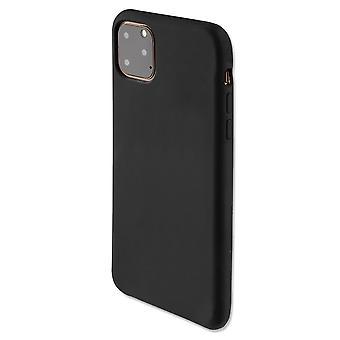 4smarts Soft Silikon Case Cupertino für Apple iPhone 11 Pro Max Schwarz Schutzhülle Tasche Etui