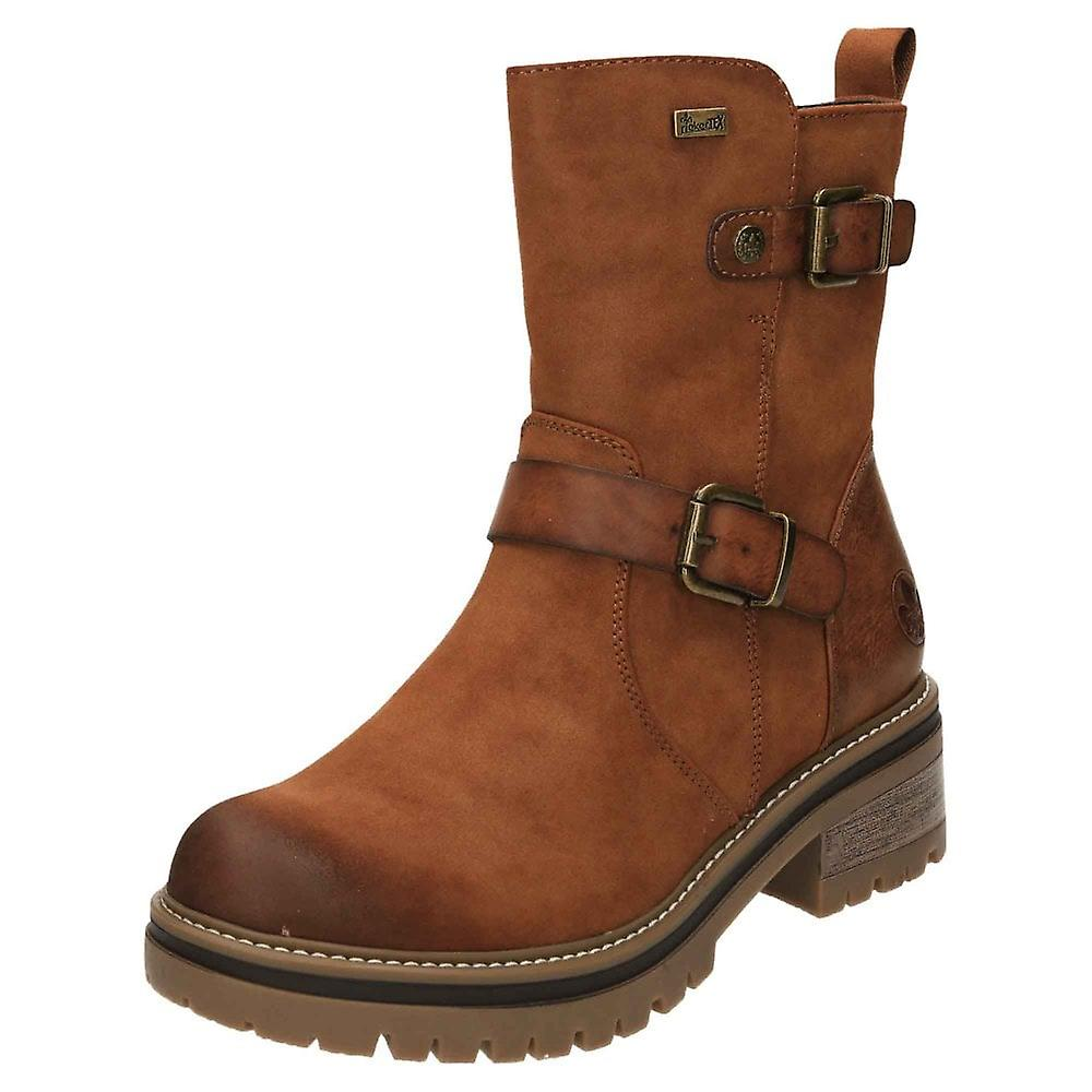 Rieker Tex Chunky Ankle Boots Warm Lined 96274-24 bIPe6