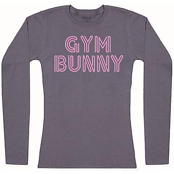 Gym Bunny-Womens Långärmad T-shirt