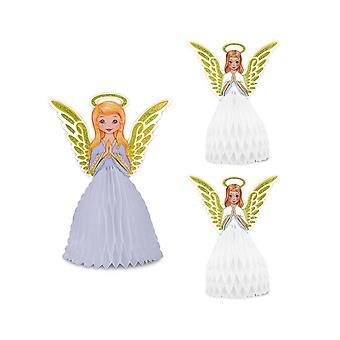 Vintage Weihnachten Engel Herzstück Set