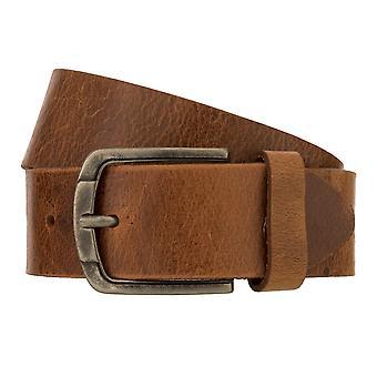 Teal Belt Men's Belt Leather Belt Denim Belt Cognac 8336