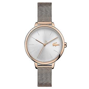 Lacoste 2001103 Women's Cannes Rose Gold Tone Wristwatch