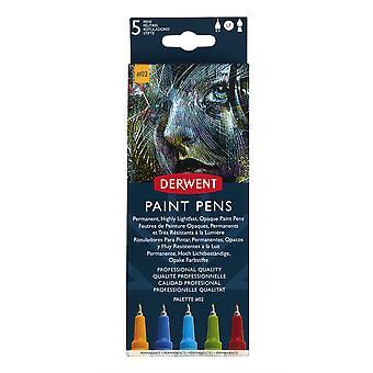 Derwent Paint Pens Palette Set #2