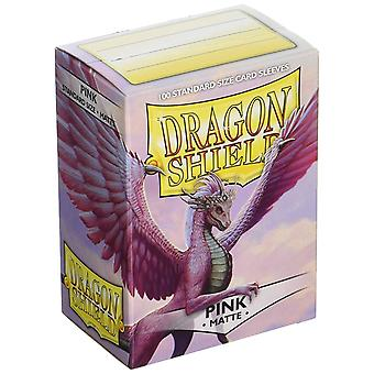 Dragon Shield Matte - Pink 100ct. na caixa (Pack of 10)