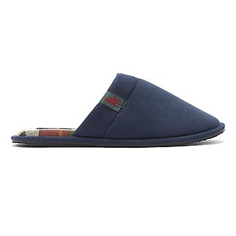 Ralph Lauren Summit Scuff Mens Navy Slippers