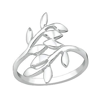 Olive Leaf - 925 Sterling Silver Silver Heavy - W38957x