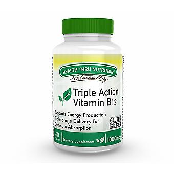 Vitamin B12 1.000 mcg (60 Tablets) - Health Thru Nutrition