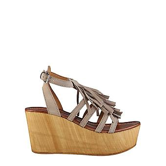 Ana lublin - adelia women wedges, brown
