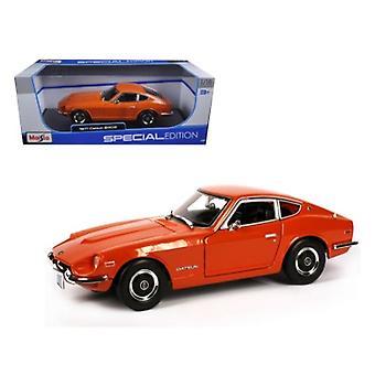 1971 Datsun 240Z Orange 1/18 Diecast Model Car par Maisto
