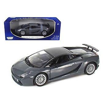 Lamborghini Gallardo Superleggera Grey 1/18 Diecast Modellauto von Motormax