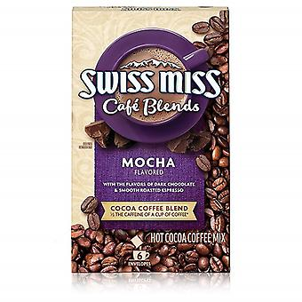 Swiss Miss Cafe Blends Mocha Cacao et Coffee Blend