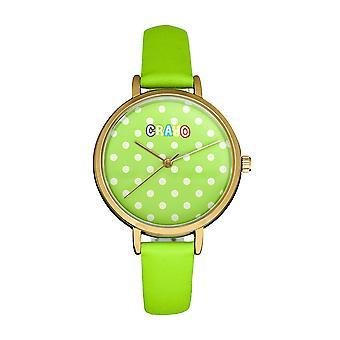 Relógio de Correia crayo doponto - Verde