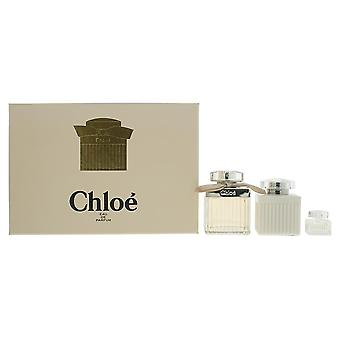 Chloe Gift Set 75ml EDP + 100ml Body Lotion + 5ml EDP